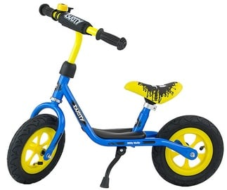 Velosipēds Milly Mally Dusty 10'' Balance Bike Blue Yellow 3227