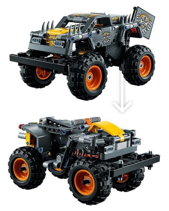 Constructor LEGO Technic Monster Jam Max-D 42119