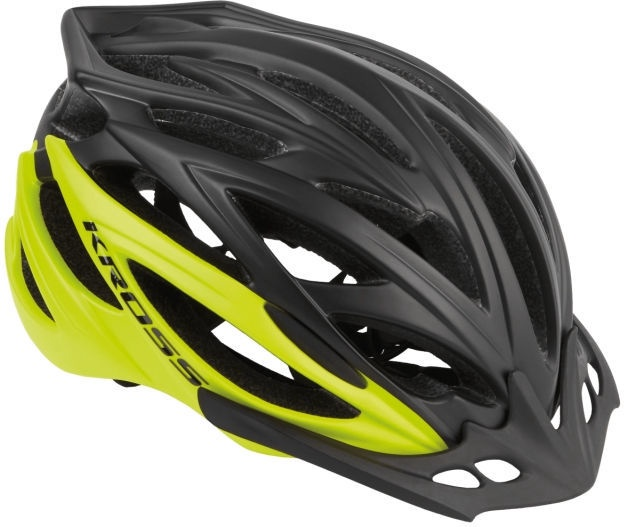 Kross Brizo Helmet M Black/Lemon
