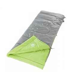 Guļammaiss Coleman Glow In The Dark Grey/Green, labais, 167.5 cm