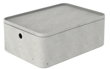 Ящик Curver Beton Box Rectangle With Lid M 6.5l Grey