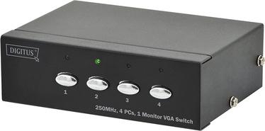Videosignāla sadalītājs Digitus DS-45100-1 VGA Switch 4-Port, 1920 x 1080