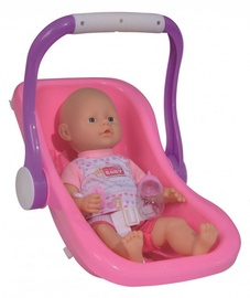Simba Doll New Born Baby In Seat 38cm 105030070