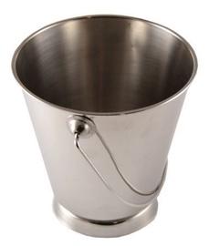 Sharda Metal Bucket With Base D12cm