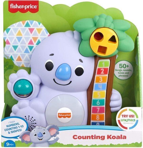 Interaktīva rotaļlieta Fisher Price Counting Koala RU GRG60