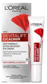 Крем для глаз L´Oreal Paris Revitalift Cica Cream Anti Aging & Repairing Eye Cream Under The Eyes, 15 мл