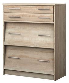 Шкаф для обуви Idzczak Meble 2 Sonoma Oak, 820x370x1010 мм