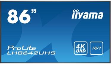 "Monitors Iiyama ProLite LH8642UHS-B1, 85.6"", 8 ms"