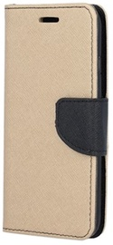 TakeMe Fancy Diary Bookstand Case Samsung Galaxy J4 Plus J415 Gold/Black