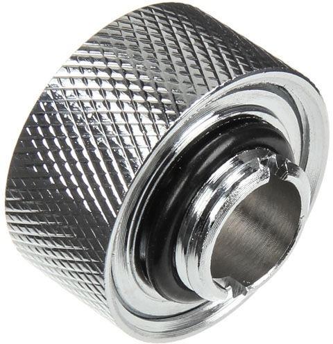 """Ohne Hersteller Adapter for 1/4"""" Thread / 19/13mm tube Chrome WASC-218"""