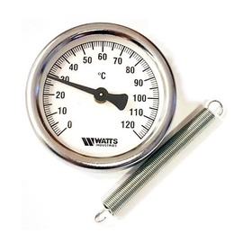 Watts Infra-Red Thermometer With Spring 63mm 0-120°c