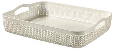 Curver Basket Knit A4 35x27x7cm White
