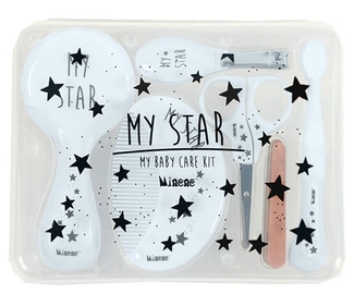 Minene My Baby Care And Grooming Kit Blue Stars