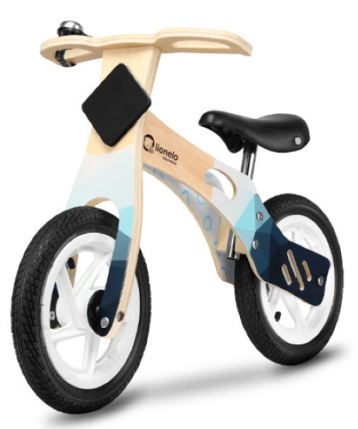 Балансирующий велосипед Lionelo Willy Indygo Blue
