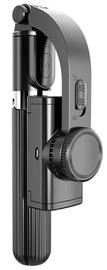 "Selfiju statīvs Mocco Gimbal 4in1 Universal, melna, 4 - 6.9 """
