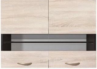 Верхний кухонный шкаф Black Red White Junona Line G2W/80/57 Sonoma Oak, 800x305x573 мм
