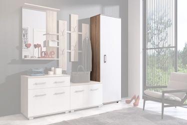 Гардероб WIPMEB Lara Sonoma Oak/White, 55x34x179 см