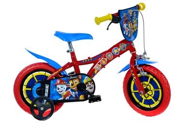"Bērnu velosipēds Dino Bikes 612l-PW, zila/sarkana, 12"""
