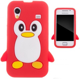 Zooky Soft 3D Cover Samsung S5830 Galaxy Ace Penguin Red