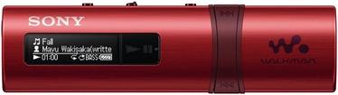 Музыкальный проигрыватель Sony NWZ-B183F/R Red, 4 ГБ