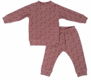 Lodger Baby Pajama Sleeper Rib Rosewood 86