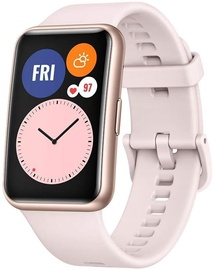 Viedais pulkstenis Huawei Watch Fit, rozā