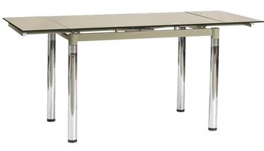 Обеденный стол Signal Meble Modern GD-018, кремовый, 1100 - 1700x740x750мм