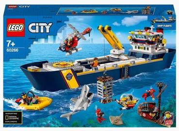 Konstruktors LEGO® City Okeāna izpētes kuģis 60266