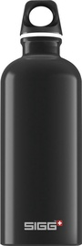 Sigg Water Bottle Traveller Black 1L
