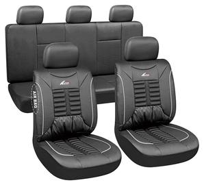 Autoserio Seat Cover Set AG-28876 11pcs Black