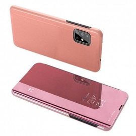 Hurtel Clear View Case For Samsung Galaxy A71 5G Pink