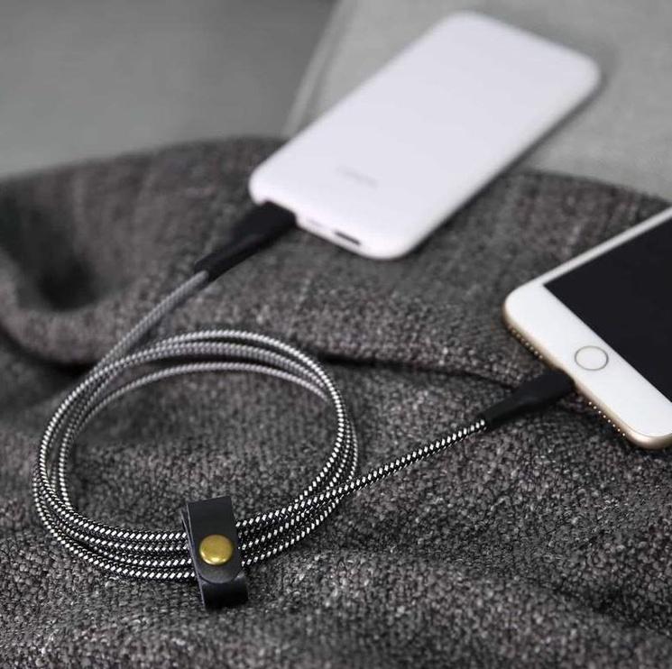 Aukey Cable USB / Apple Lightning Black 2m