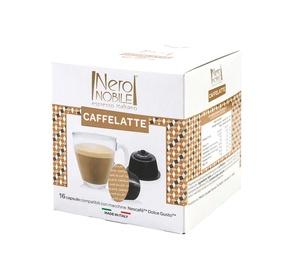 Kafijas kapsulas NeroNobile Dolce Gusto Latte, 16 gab.