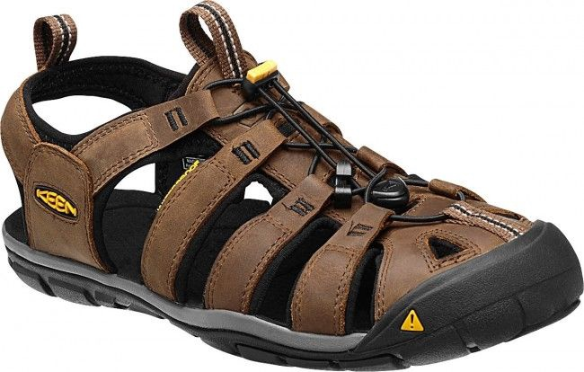 Sandales Keen Clearwater CNX Leather Black/Brown 46