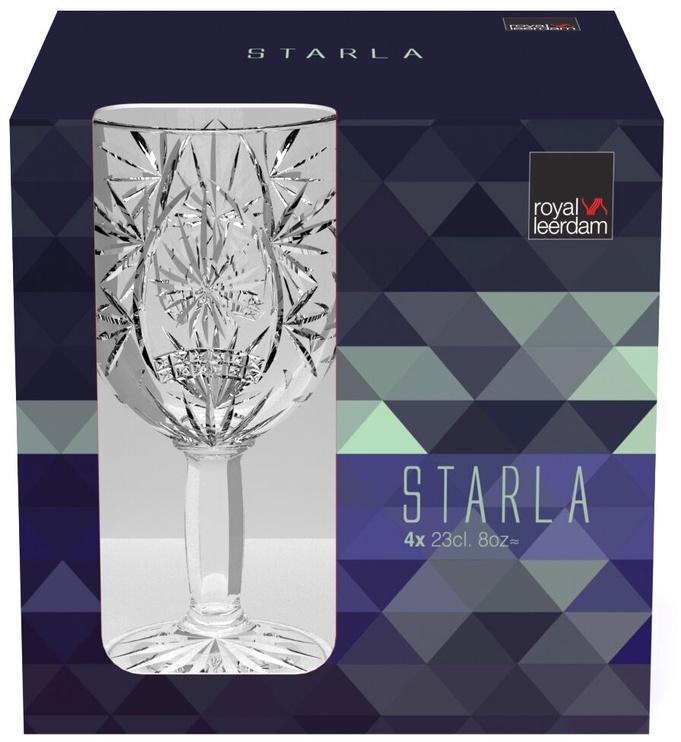Kokteiļu glāze Royal Leerdam Starla, 0.23 l, 4 gab.