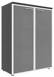 Skyland Xten XMC 85.7 Office Cabinet 85.6x119x43.2cm Legno Dark