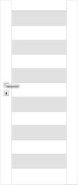 Полотно межкомнатной двери PerfectDoor ERIE 01, белый, 203.5 см x 84.4 см x 4 см
