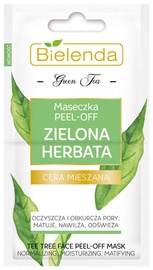 Bielenda Green Tea Peel Off Mask 2 x 5g