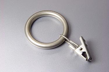 Кольцо Domoletti, серебристый, 16 мм, 10 шт.