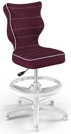 Bērnu krēsls Entelo Petit Black HC+F Size 4 VS07 White/Purple, 370x350x950 mm