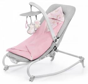 Детская кроватка - качели KinderKraft Felio Peony Rose 2020