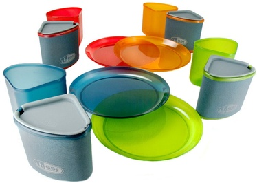 Набор посуды GSI Outdoors Infinity 4 Person Compact Tableset