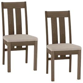 Ēdamistabas krēsls Home4you Turin K11305 Grey