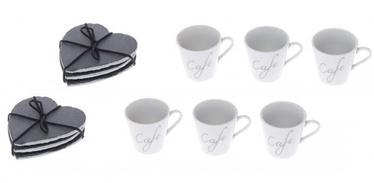 Maku Espresso Cups With Coasters 6pcs
