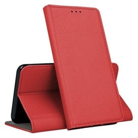 Mocco Smart Magnet Book Case For Huawei Y5 2019 Red