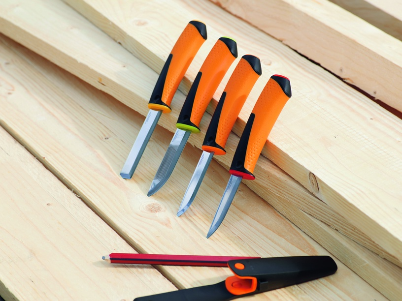 Fiskars Carpenter`s Knife with Sharpener