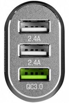 Modecom MC-CU3 QuickCharge 3.0 + 2xUSB Car Charger
