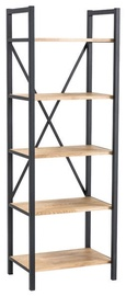 Signal Meble Loras R2 Storage Shelf 180x60cm Oak