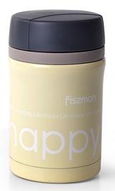 Fissman Vacuum Food Jar 450ml Yellow