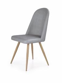 Ēdamistabas krēsls Halmar K214 Grey/Honey Oak
